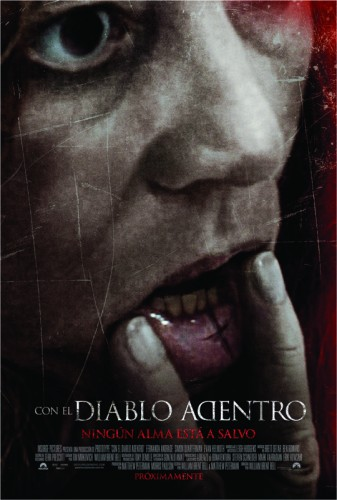 DEVIL INSIDE POSTER