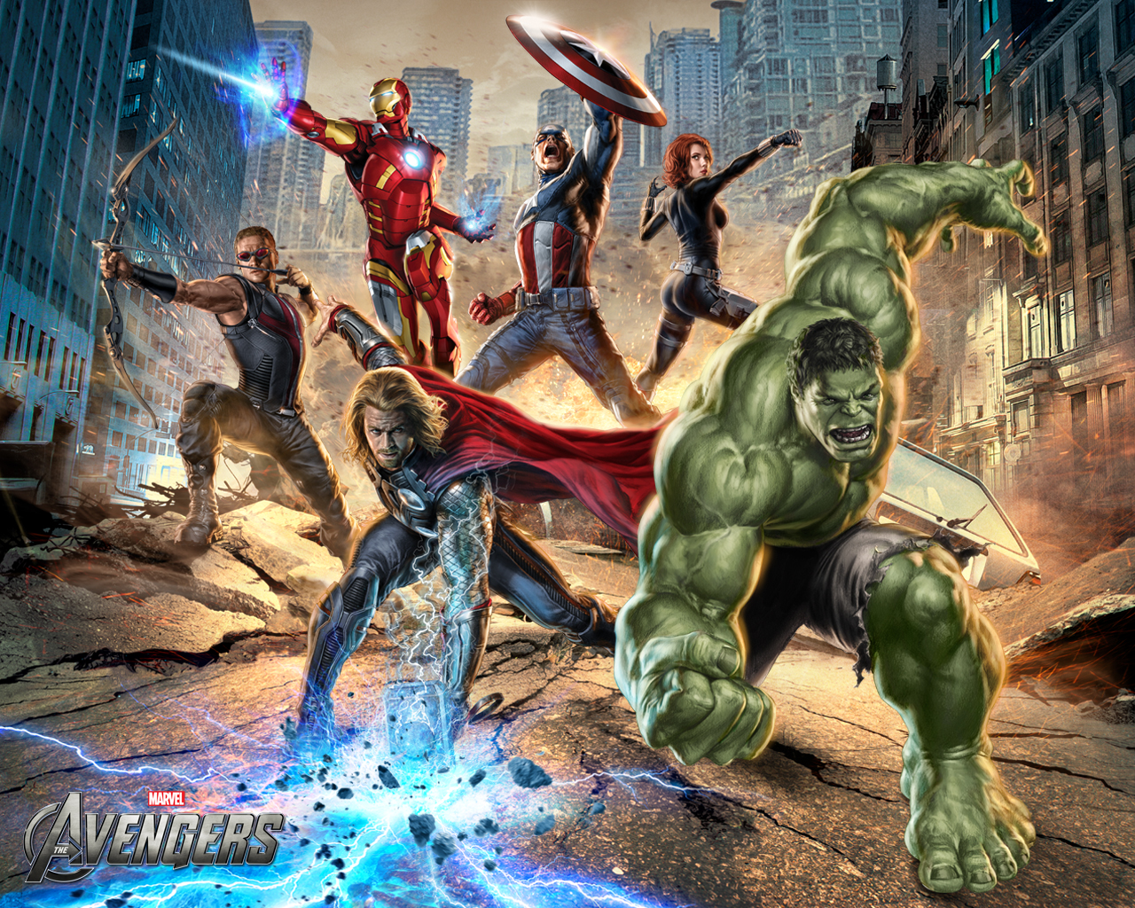 Wallpapers de Coleccion de The Avengers (Los Vengadores)