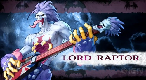 DARKSTALKERS RESURRECTION CRITICSIGHT LORD RAPTOR