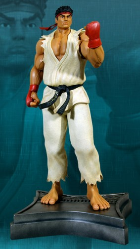 Estatua Hollywood collectibles criticsight ryu 1