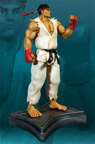 Estatua Hollywood collectibles criticsight ryu 2