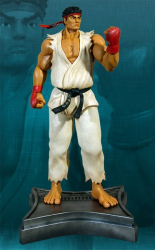 Estatua Hollywood collectibles criticsight ryu 4