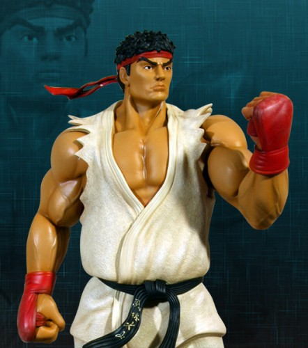 Estatua Hollywood collectibles criticsight ryu 6