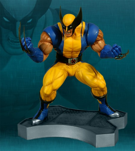 Estatua Hollywood collectibles criticsight wolverine 1