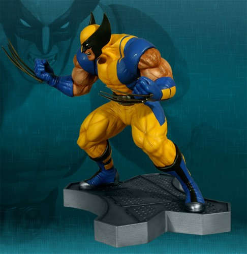 Estatua Hollywood collectibles criticsight wolverine 2