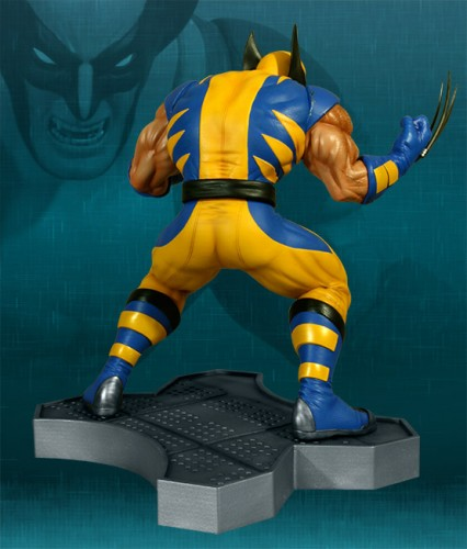 Estatua Hollywood collectibles criticsight wolverine 3