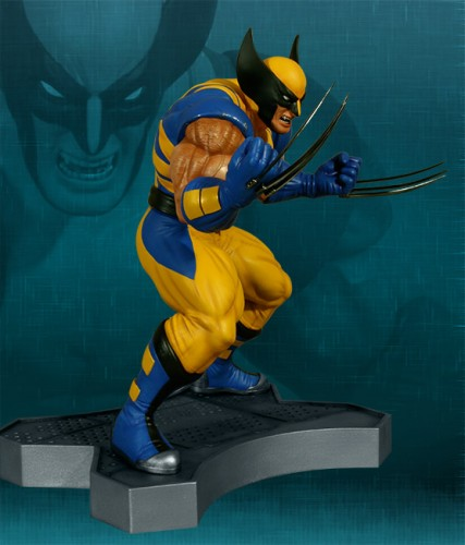 Estatua Hollywood collectibles criticsight wolverine 4