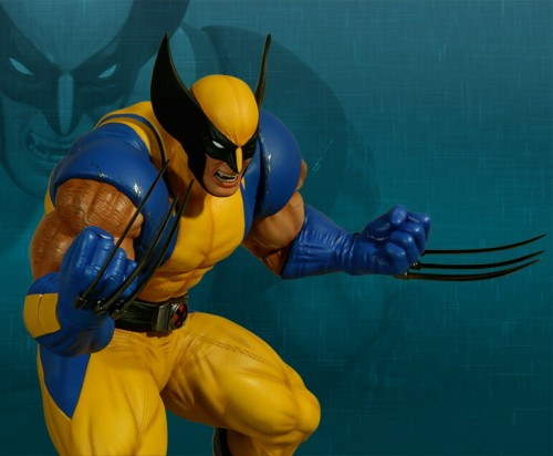 Estatua Hollywood collectibles criticsight wolverine 5