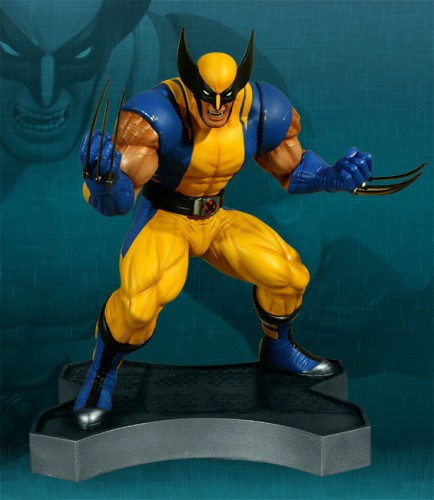 Estatua Hollywood collectibles criticsight wolverine 6