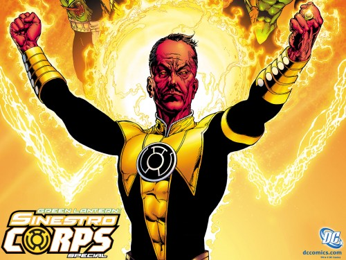 Injustice god among us criticsight sinestro