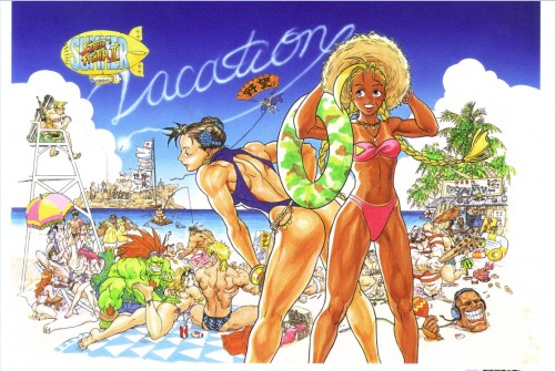 street fighter vacation criticsight