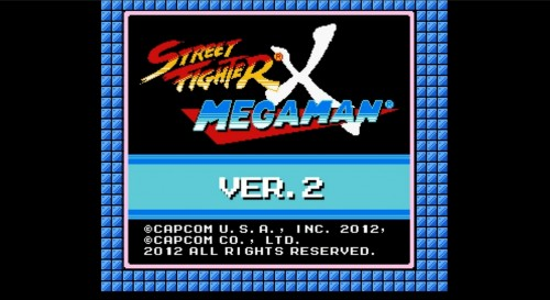 street fighter x mega man ver 2 criticsight