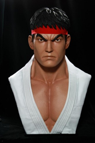 Estatua busto de ryu por pop cultura collectibles criticsight imagen 1