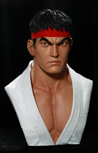 Estatua busto de ryu por pop cultura collectibles criticsight imagen 3