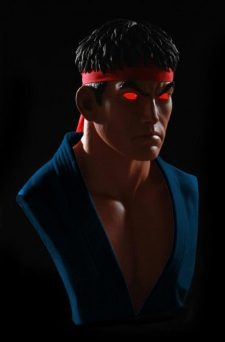 Estatua busto de ryu por pop cultura collectibles criticsight imagen 8