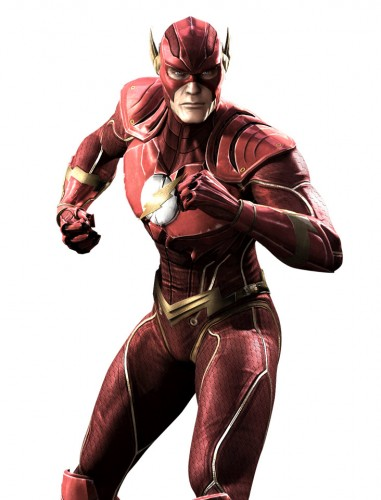 Injustice gods among us criticsight ilustración flash