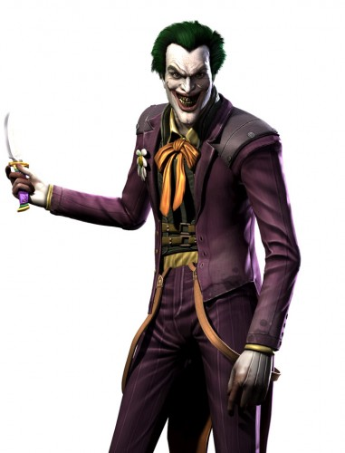 Injustice gods among us criticsight ilustración  joker guason