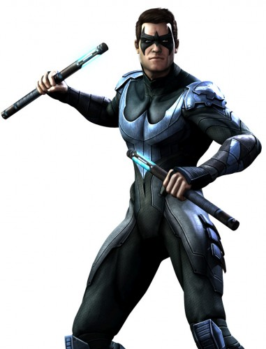 Injustice gods among us criticsight ilustración nightwing