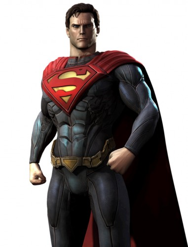 Injustice gods among us criticsight ilustración superman