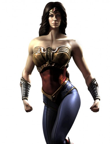 Injustice gods among us criticsight ilustración wonder woman mujer maravilla