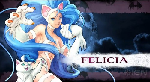 felicia darkstalkers resurrection criticsight