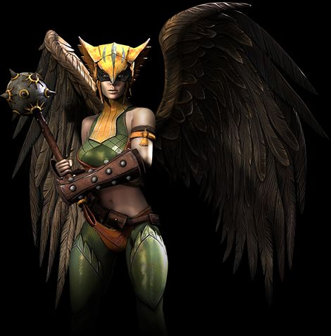 hawkgirl en injustice god among us criticsight