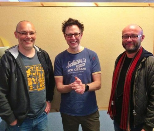james gunn con andy lanning y vincent abnett criticsight