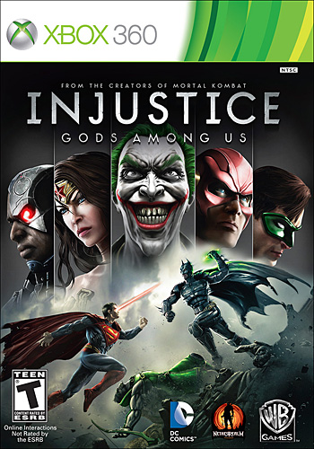 Injustice Gods Among Us  16 de Abril del 2013 criticsight