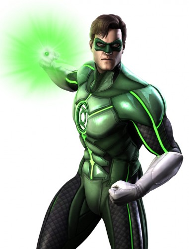 Injustice god among us arte criticsight green lantern