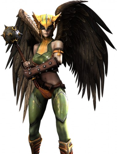 Injustice god among us arte criticsight hawk girl