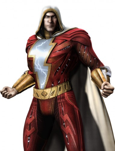 Injustice god among us arte criticsight shazam