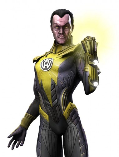 Injustice god among us arte criticsight sinestro