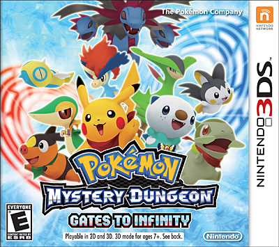Pokemon Mysteru Dungeon Gates to  Infinity  24 de Marzo del 2013 criticsight