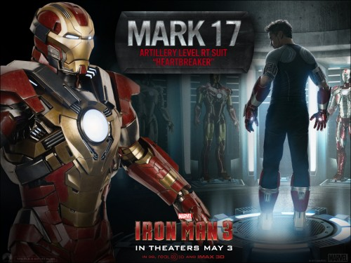 armadura mark 17 heartbreaker iron man 3 criticsight
