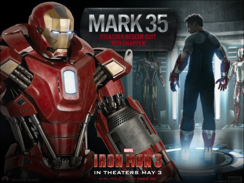 armadura mark 35 red snapper iron man 3 criticsight