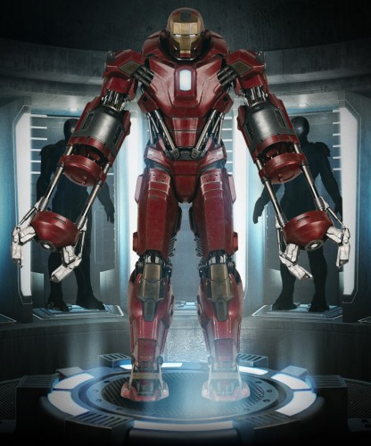 armadura mark 35 red snapper iron man 3 criticsight ver 2