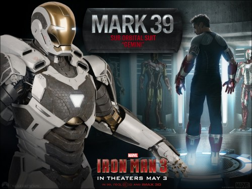 armadura mark 39 gemini iron man 3 criticsight