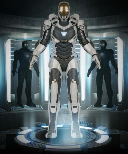 armadura mark 39 gemini iron man 3 criticsight ver 2