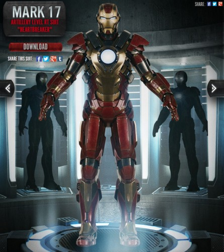 mark 17 heartbreaker iron man 3 criticsight