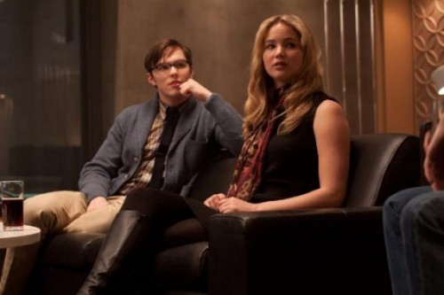 nicholas  hoult y jennifer lawrence x men days of the future past criticsight