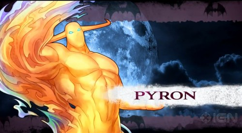 pyron en darkstalkers resurrection criticsight