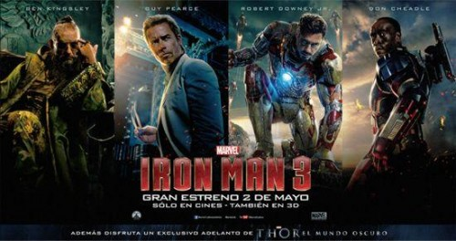 trailer de thor dark world en iron man 3 criticsight
