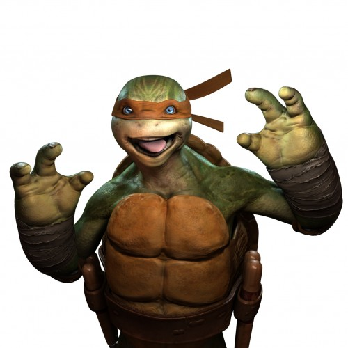 "TMNT Out of Shadows  Gameplay de ""Miguel Angel"" criticsight 1"