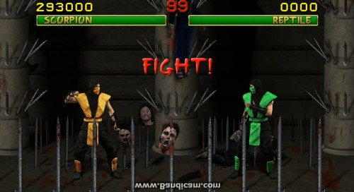 mortal kombat en HD criticsight