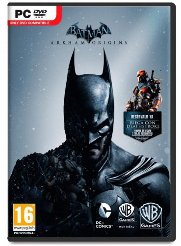Batman arkham origins criticsight portada pc
