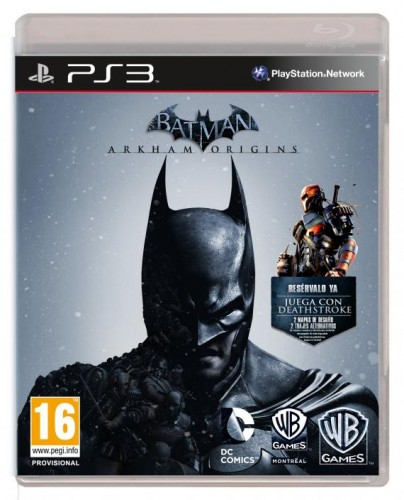 Batman arkham origins criticsight portada ps3