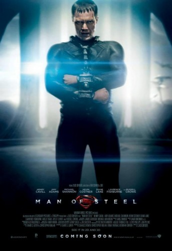 man of steel general zod poster criticsight