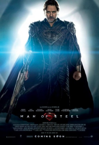 man of steel poster de jor el criticsight