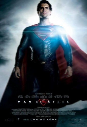 man of steel superman poster criticsight