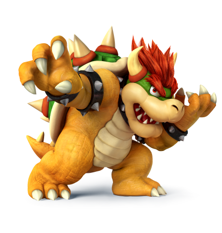 Arte super smash bros wii u 3ds criticsight imagen bowser